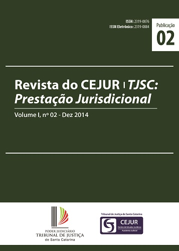 Capa da Revista do CEJUR
